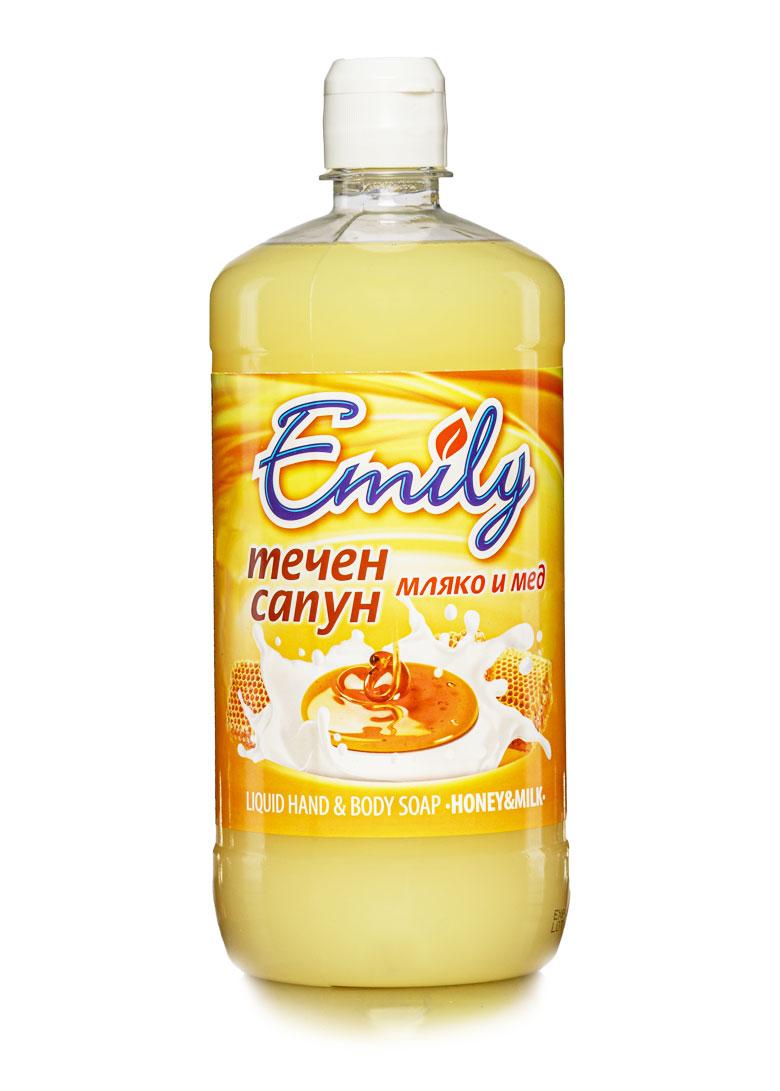 Емили-течен-сапун-мляко-и-мед